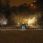 Margaretaparken vinter