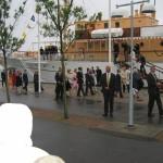 Margaretaparken invigning med kungligt besök